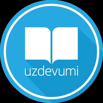 """Uzdevumi.lv"" logo"