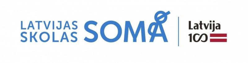 """Projekta """"Latvijas skolas soma"""" logo"""